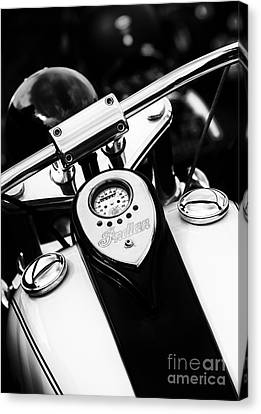 Speedometer Canvas Print - Scout Tank by Tim Gainey