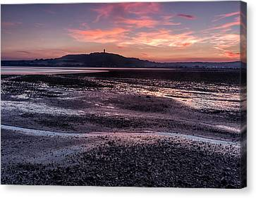 Scrabo Above Strangford Lough Canvas Print