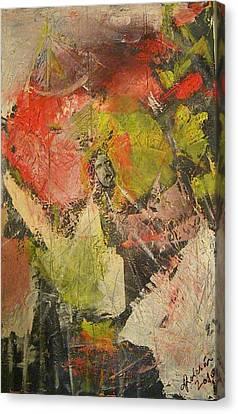 Scream Canvas Print by Carmen Kolcsar