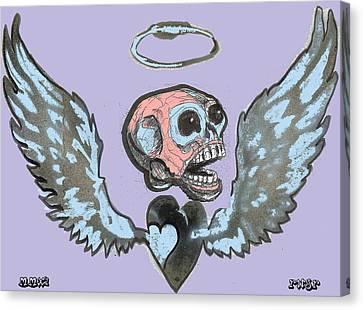 Screaming Hearts Canvas Print by Robert Wolverton Jr