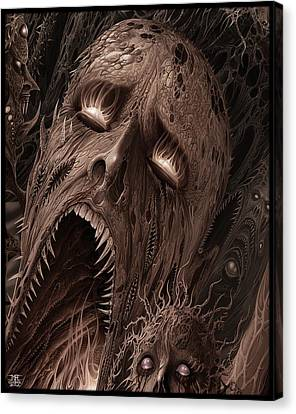 Screams From Beyond Canvas Print by Mark Cooper