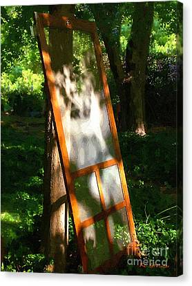 Screen Doors Canvas Print - Screen Lean by RC DeWinter