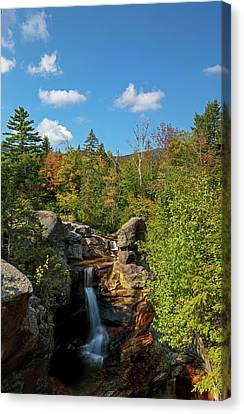 Canvas Print featuring the photograph Screw Auger Falls by Juergen Roth