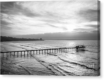 Scripps Institution Of Oceanography Pier Canvas Print by University Icons