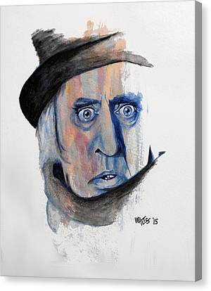 Scrooge Canvas Print by William Walts