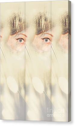 Scrying Parallel Lives Canvas Print