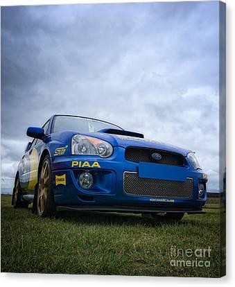 Subaru Impreza Canvas Print - Scuby by Nigel Bangert