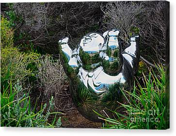 Sculpture By The Sea - City Dreams By Kaye Menner Canvas Print by Kaye Menner