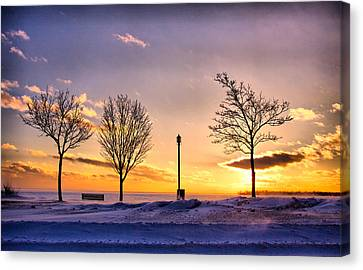 .scuse Me While I Touch The Sky.. Canvas Print by Russell Styles