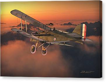 S.e. 5a On A Sunrise Morning Canvas Print by David Collins