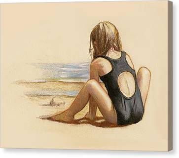 Sea And Sand Canvas Print