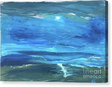 Canvas Print - Sea And Sky by Karen Nicholson