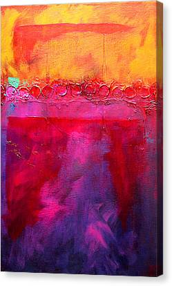 Abstract Seascape Canvas Print - Sea And Sky by Nancy Merkle