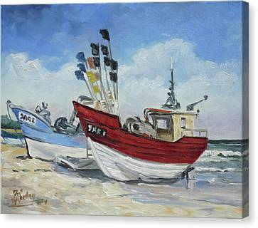 Canvas Print - Sea Beach 10 - Baltic by Irek Szelag