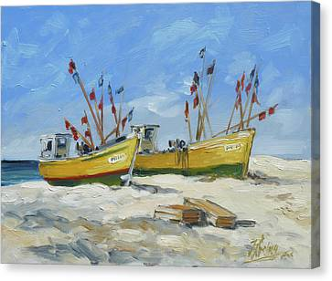 Canvas Print - Sea Beach 2 - Baltic by Irek Szelag