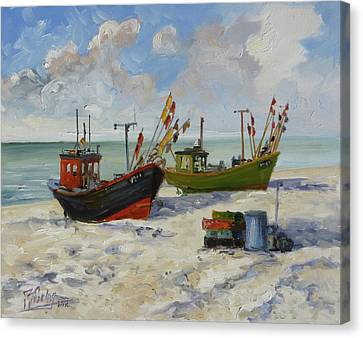 Canvas Print - Sea Beach 3 - Baltic by Irek Szelag