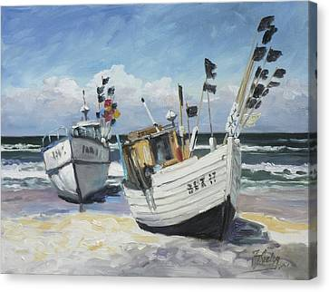 Canvas Print - Sea Beach 9 - Baltic by Irek Szelag