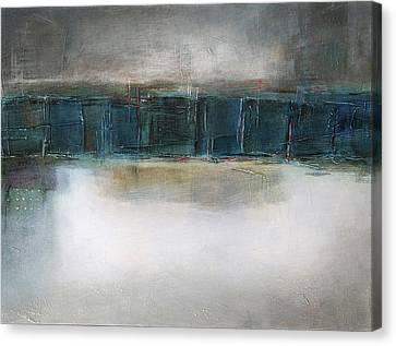 Sea Canvas Print by Behzad Sohrabi