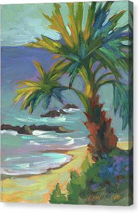 Sea Breeze Canvas Print by Diane McClary