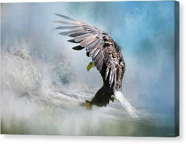 Sea Capture Canvas Print