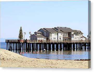 Sea Center - Santa Barbara Canvas Print
