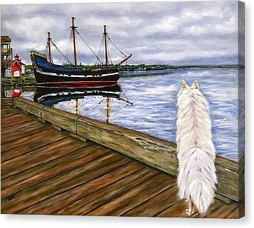 Sea Dog Canvas Print
