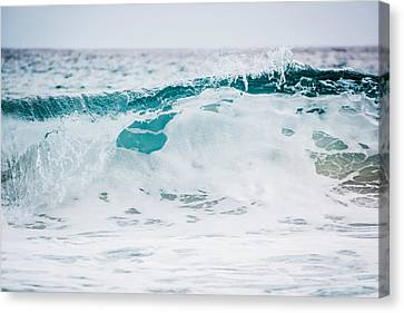 Sea Foam Canvas Print by Shelby Young