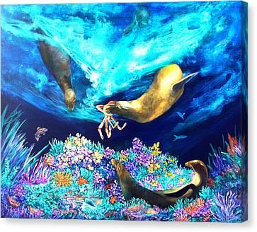 Sea Garden  Canvas Print by Dianne Roberson