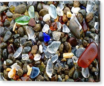 Sea Glass Beauty Canvas Print