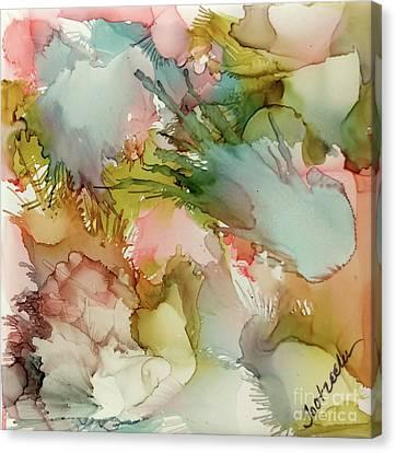 Sea Glass Canvas Print by Jo Ann Bossems