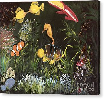 Sea Harmony Canvas Print by Carol Sweetwood