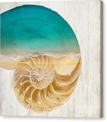 Sea In My Hand Canvas Print by Mindy Sommers