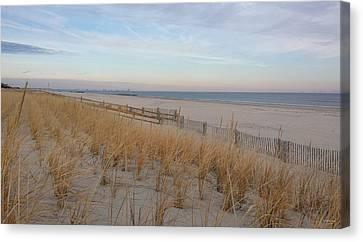 Sea Isle City, N J, Beach Canvas Print