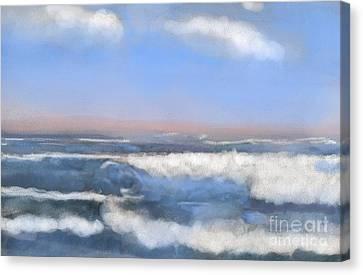 Sea Isle Waves Canvas Print