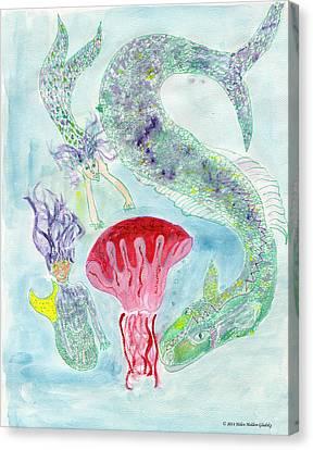 Sea Joys Canvas Print