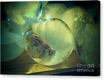 Canvas Print featuring the sculpture Sea Land Sky  by Kristine Nora