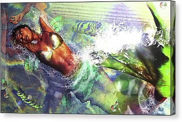 Sea Lioness Canvas Print