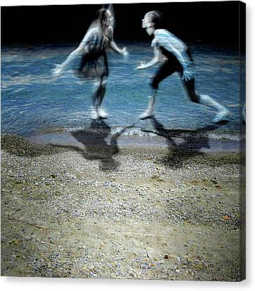 Dance Ballet Roses Canvas Print - Sea Me by Martina Rall