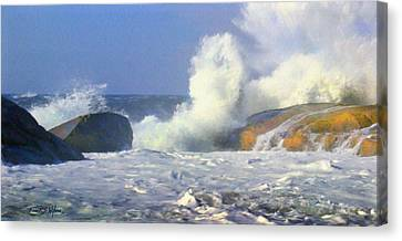 Sea Mist Canvas Print by Frank Wilson