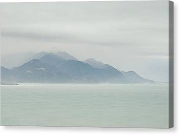 Canvas Print featuring the photograph Sea Mist by Odille Esmonde-Morgan
