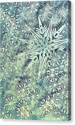 Susann Serfezi Canvas Print - Sea Of Flakes by AugenWerk Susann Serfezi