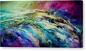 Sea Of Souls Canvas Print by Michael Lang