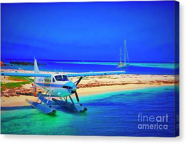 Sea Plane 5 Canvas Print by Charles Haaland