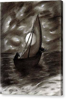 Sea Queen Of Connacht Canvas Print by C Nick