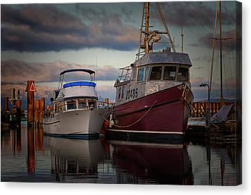 Canvas Print featuring the photograph Sea Rake by Randy Hall