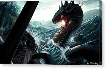 Sea Serpent Canvas Print