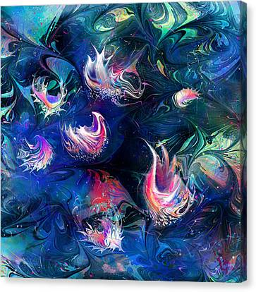 Sea Shells Canvas Print by Rachel Christine Nowicki