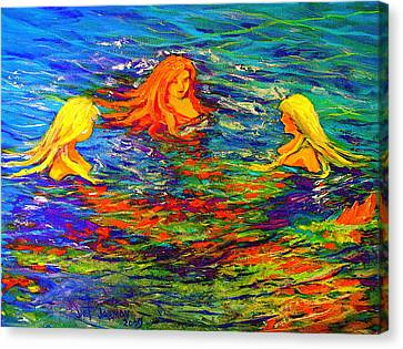 Sea Sisters Revisited Canvas Print