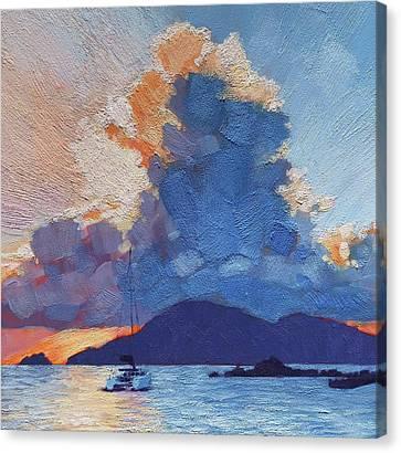 Sea Sky 4 Canvas Print