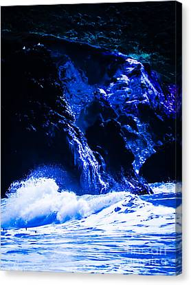 Sea Spray Canvas Print by Heather Joyce Morrill